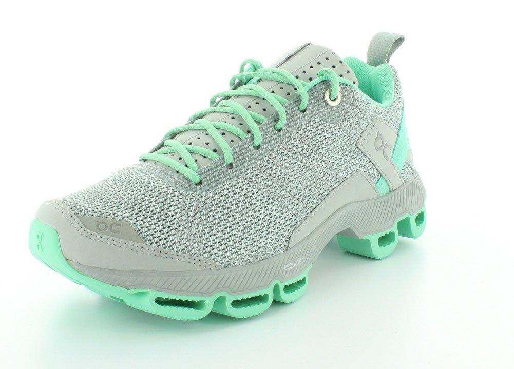 ON Women's Cloudsurfer Sneaker B00MQPRPNW 6 B(M) US|Fog/Mint