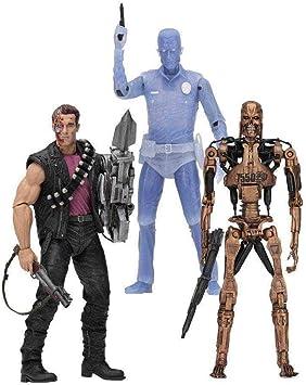 NECA Pack 3 Figuras Terminator 2, 18 cm Kenner Tribute: Amazon.es ...