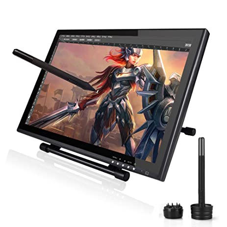 amazon com ugee 19 graphics drawing tablet pen tablet monitor with