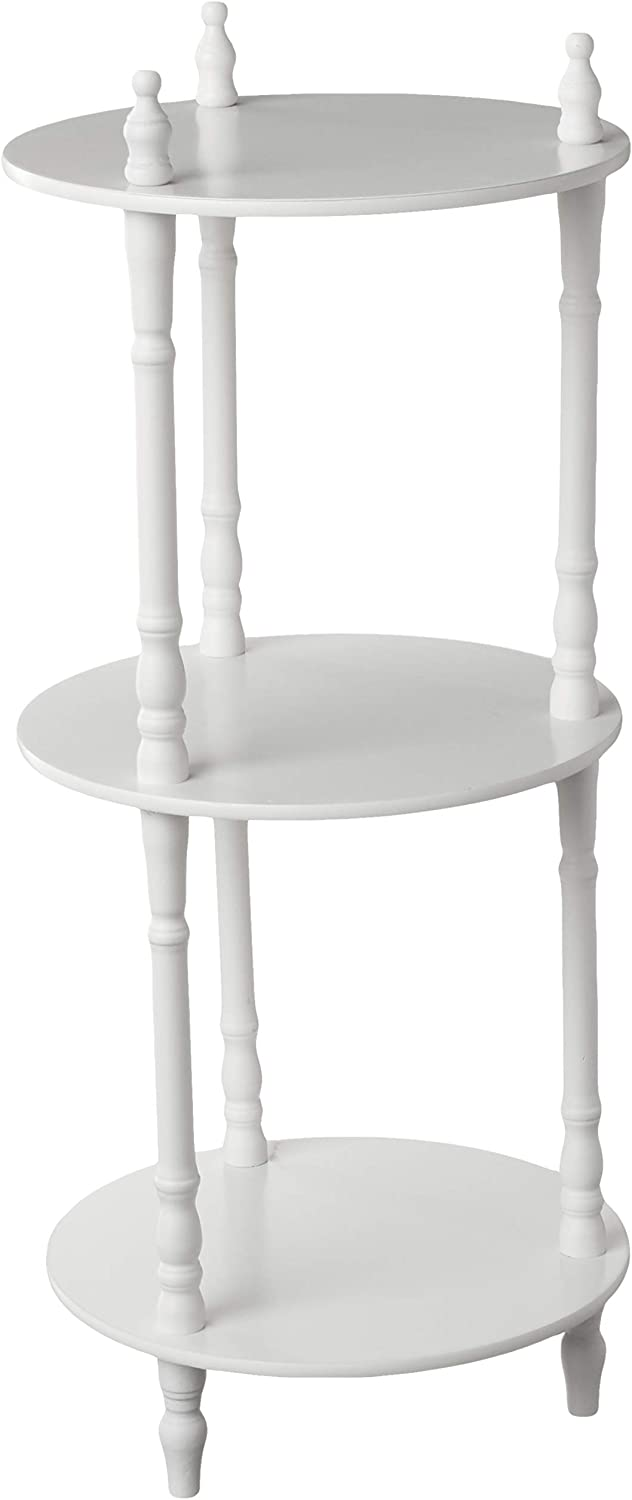 Frenchi Home Furnishing 3-Tier Shelves, White