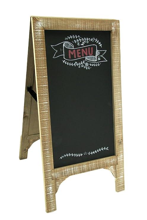 Amazon.com: Madera y Metal, pizarras aspecto Vintage menú ...