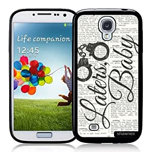 Cool Painting Galaxy S4 Case - S IV Case - Shawnex Laters baby on dictionary Samsung Galaxy i9500 Case Snap On Case