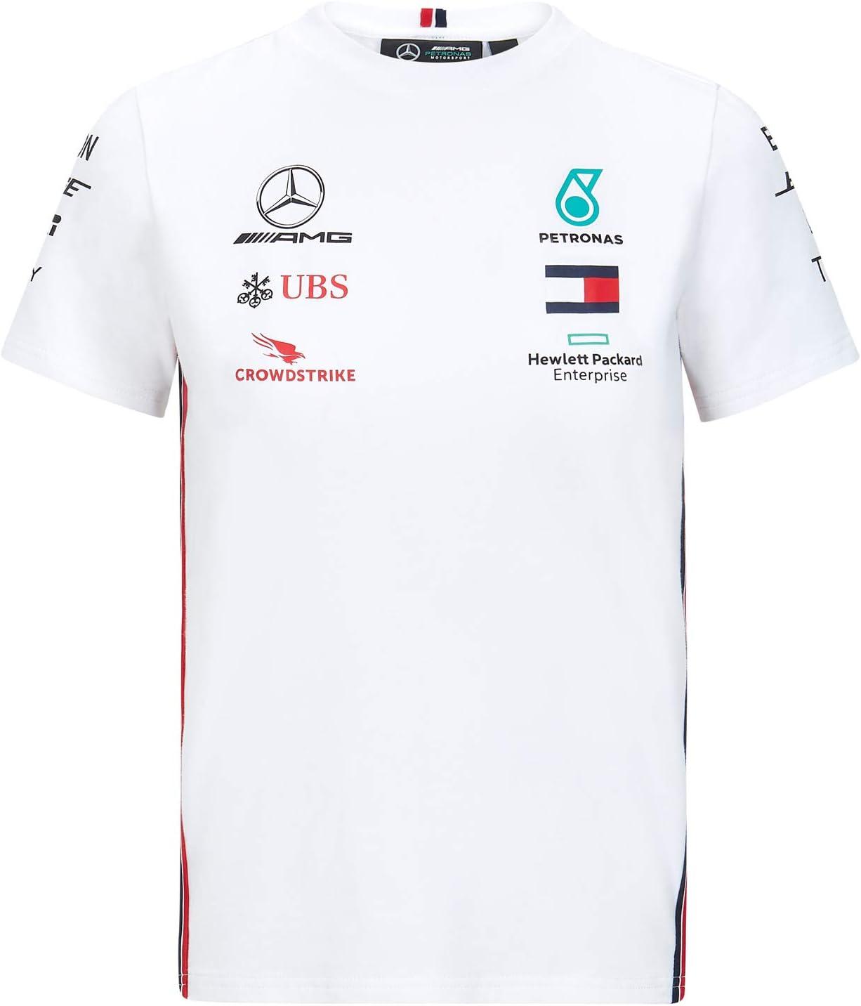 MAMGP T-Shirt Officiel 2020 Mercedes-AMG F1 pour Enfant Lewis Hamilton