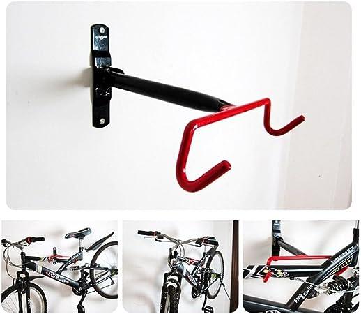 Bike Rack Hook Storage Steel Wall Mounted Hanger Hanging Stand Bicycle Holder CA