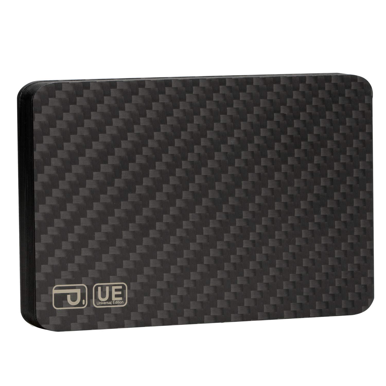 pitaka Magwallet UE,Minimalist Slim Carbon Fiber Modular Card Holder RFID Blocking Wallet