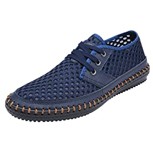 MOHEM Men's Poseidon Fashion Sneakers Casual Walking Shoes Water Shoes