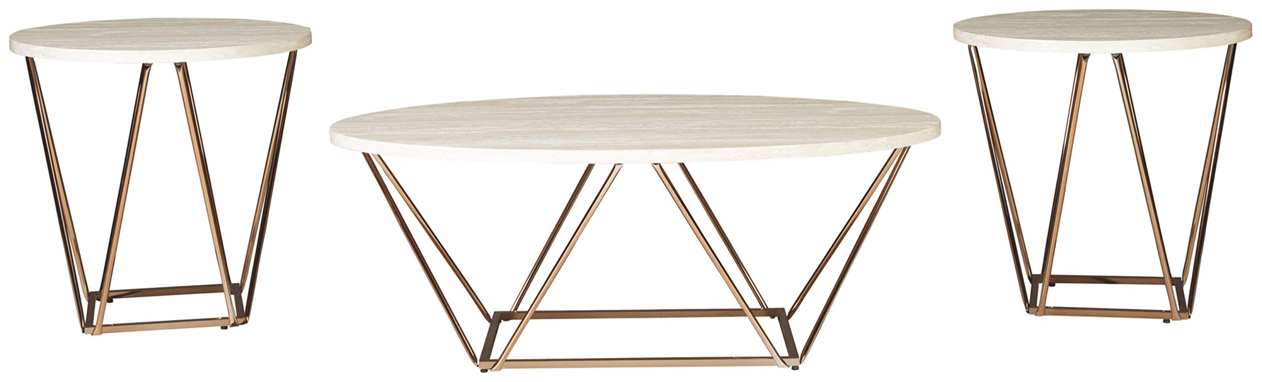 Signature Design by Ashley Tarica 3-IN-1 TABLE, Two-tone by Signature Design by Ashley