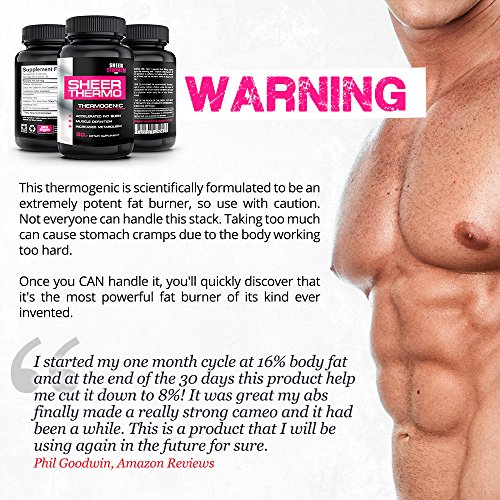 Sheer-Strength-Labs-Sheer-Thermo-Fat-Burner-Thermogenic-Weight-Loss-Supplement-60-Natural-Veggie-Capsules