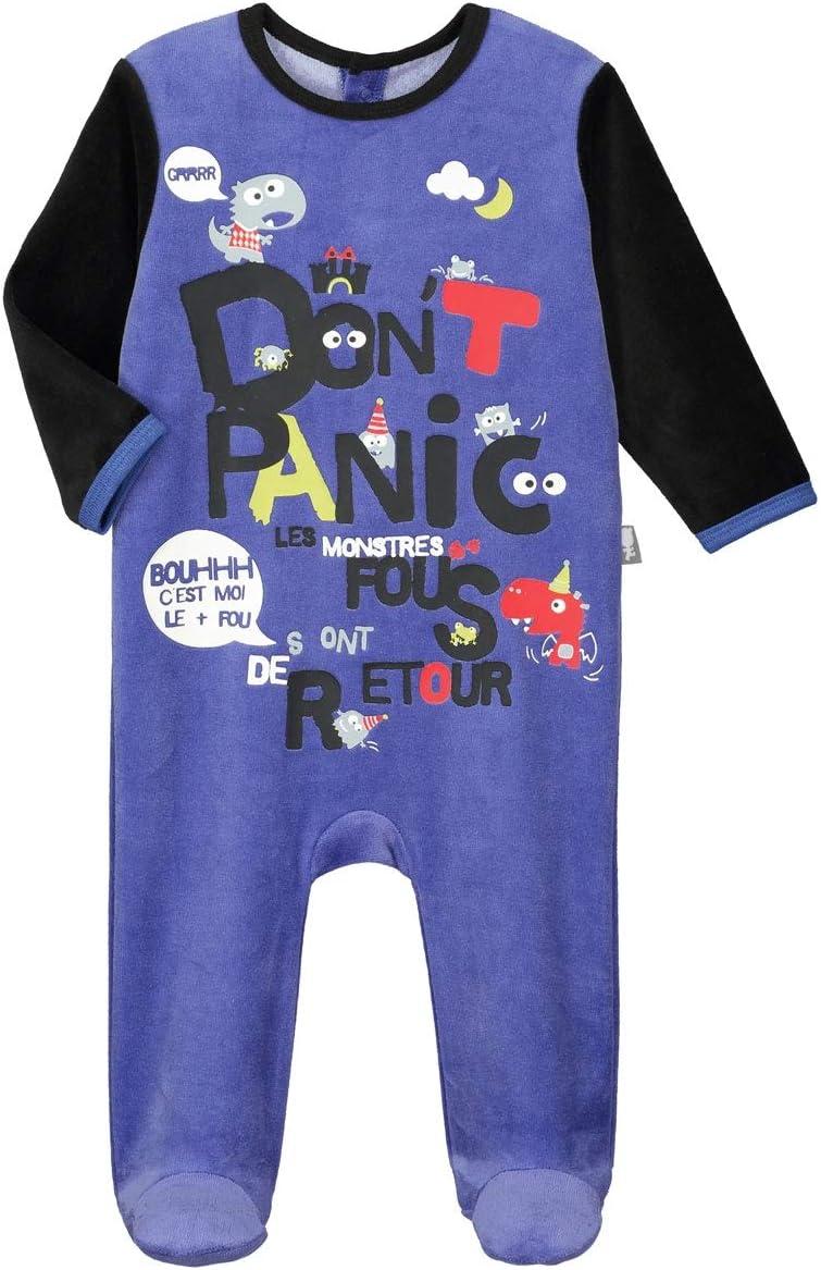 Taille 36 mois Pyjama b/éb/é velours Dont Panic 98 cm