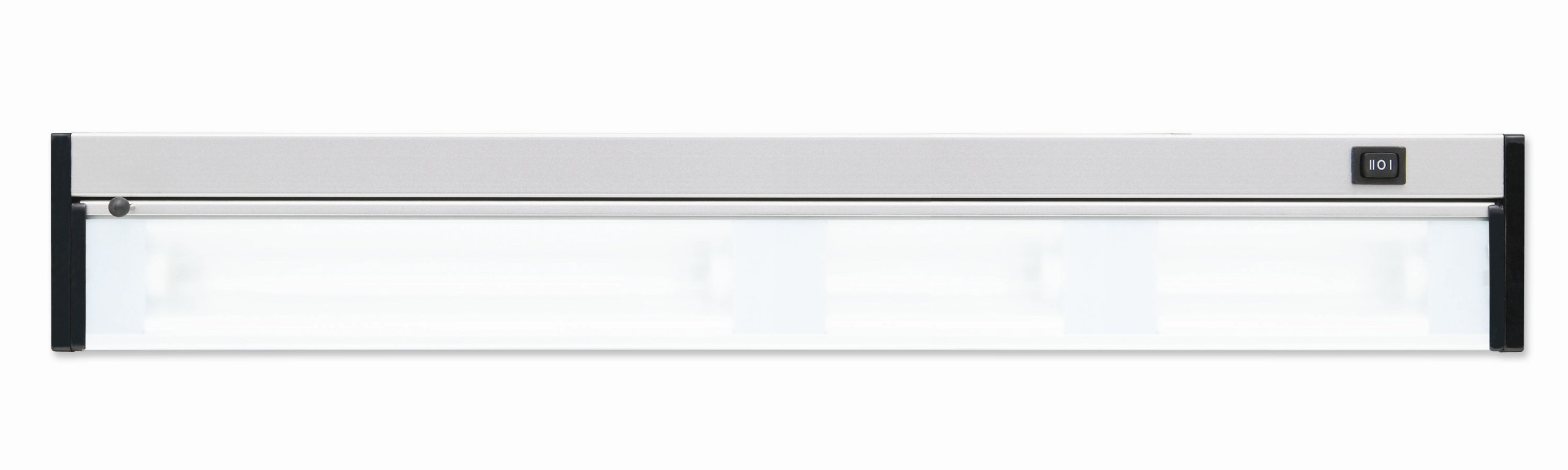 Good Earth Lighting 24-inch Xenon Convertible Under Cabinet Light Bar, Stainless Steel