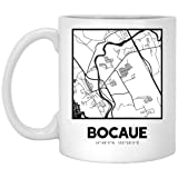 Bocaue City Map 11 oz. White Gift or Souvenir
