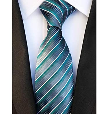 YiJiaMei Corbata de seda para hombre Corbata floral de moda de 8 ...