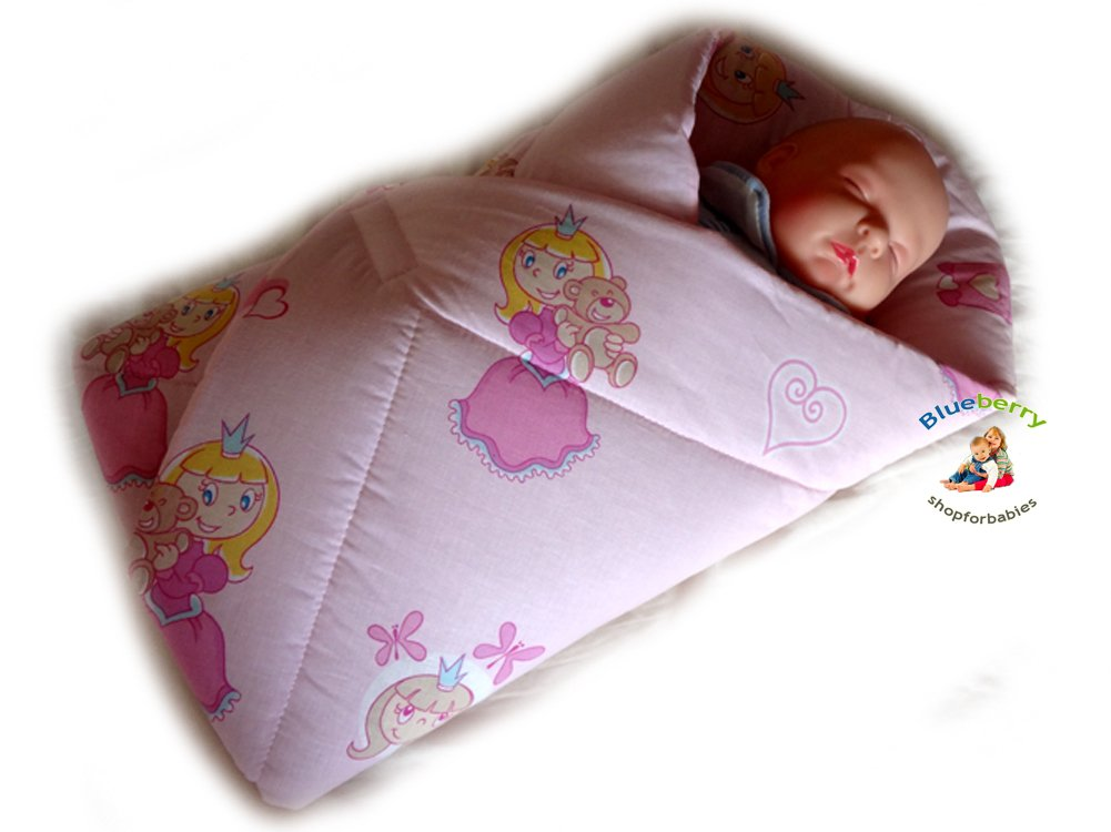 最終決算 BlueberryShop PLAYMAT Swaddle Swaddle Wrap, Blanket, baby duvet, ) Sleeping Bag for newborn baby shower GIFT PRESENT, 0-3m Cotton ( 0-3m ) ( 78 x 78 cm ) Pink Princess B00C117R20, キッズクラブキヌヤ:54a1b8c7 --- a0267596.xsph.ru