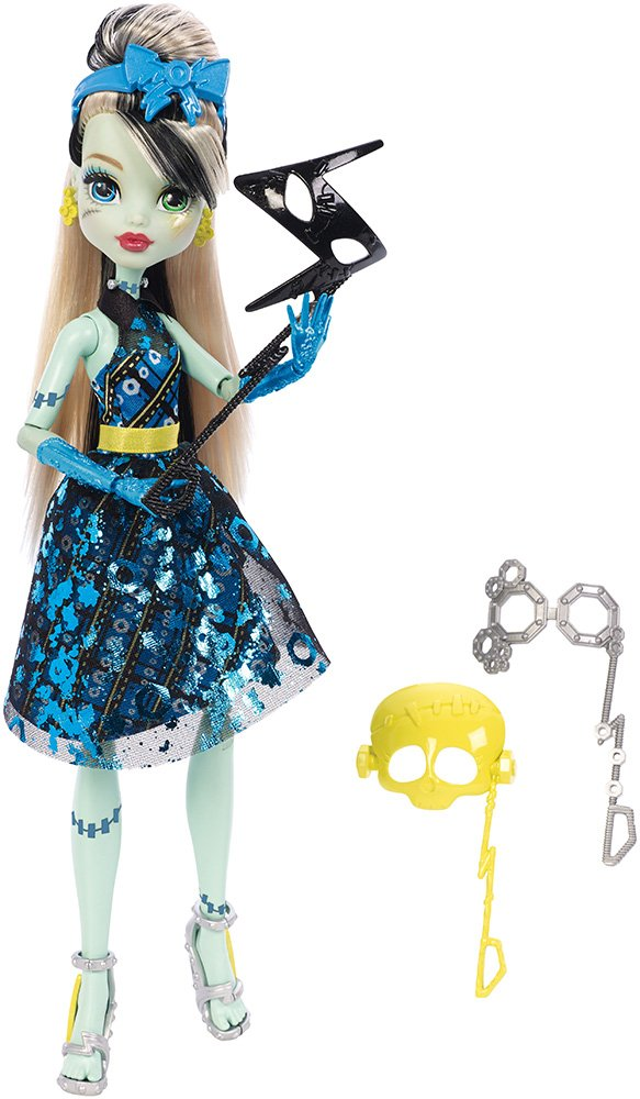 Amazon Monster High Dance The Fright Away Transforming Frankie Stein Doll Toys Games