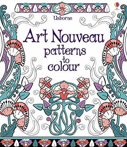 Download Art Nouveau Patterns to Colour ebook