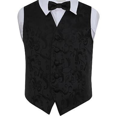 2PC Men Boys Kids Child Solid Color Plain Satin Skinny Tie Necktie Neckwear Set