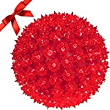 Christmas Sphere Light - GE Outdoor Indoor Holiday - Best Reviews Guide