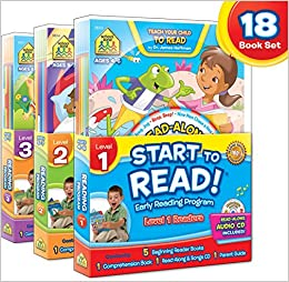 Amazon.com: School Zone - Start to Read!® Complete Early ...
