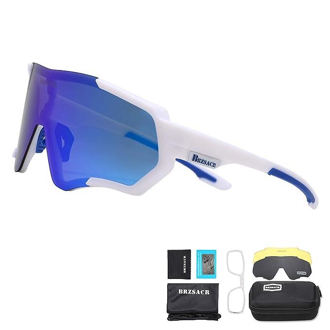 Gafas de sol para la montaña con cristal azul