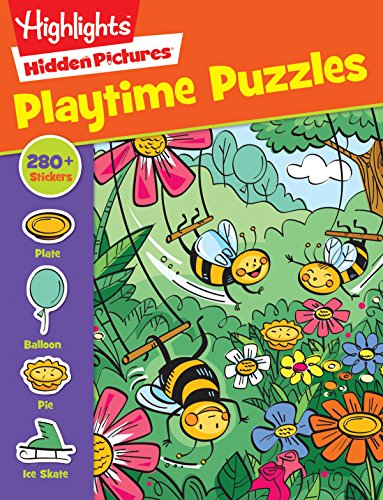 Highlights Sticker Hidden Pictures® Playtime Puzzles