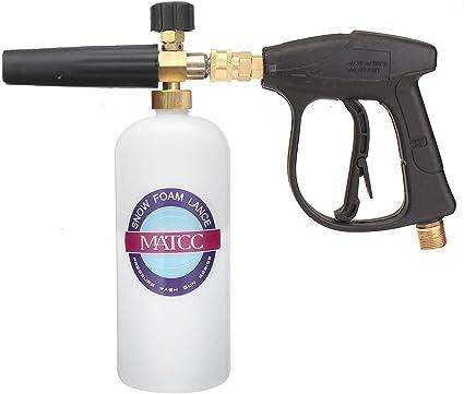 Pistolet à mousse de lavage de voiture pour bouteille de lavage jet de