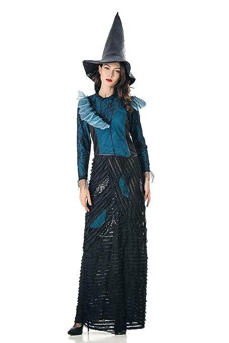 ZC Dawn Disfraces Malvados, Disfraz De Bruja De Halloween para ...