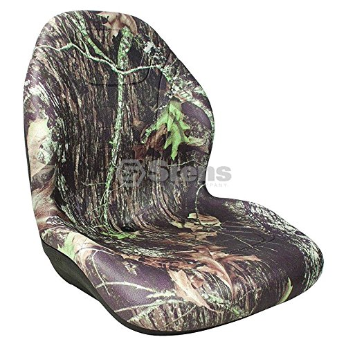 Stens 420-202 Universal Mossy Oak Camouflage 20'' High Back Seat Waterproof Vinyl