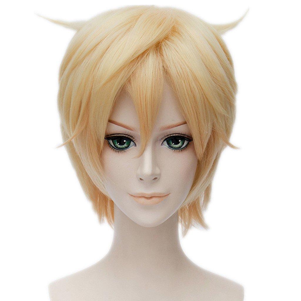 MSHUI Anime Cute High Earth Defense Club Love! Yumoto Hakone Cosplay Wig Hair