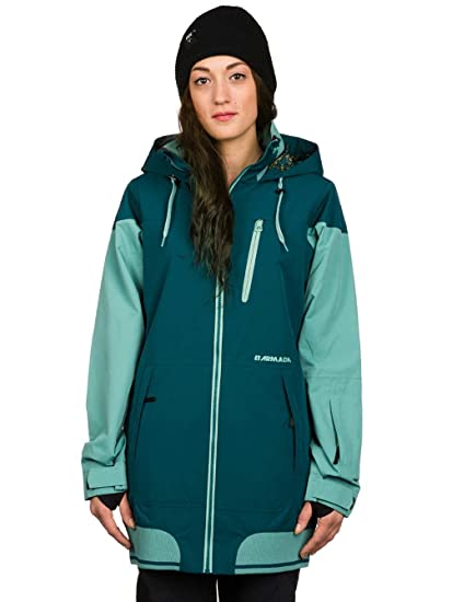 8fae616eed Image Unavailable. Image not available for. Color  Armada Women s Gypsum  Ski  Jacket ...