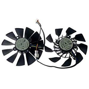 T129215SU 95mm DC 12V 0.5A 28mm 5Pin Graphics Video Card Cooling Fan for GTX780/780TI R9 280/280X 290/290x GTX970/980