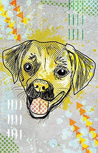(Puggle Poster - Great for a Kids Room/Pug/Beagle/Dog/Breed/Puppy )