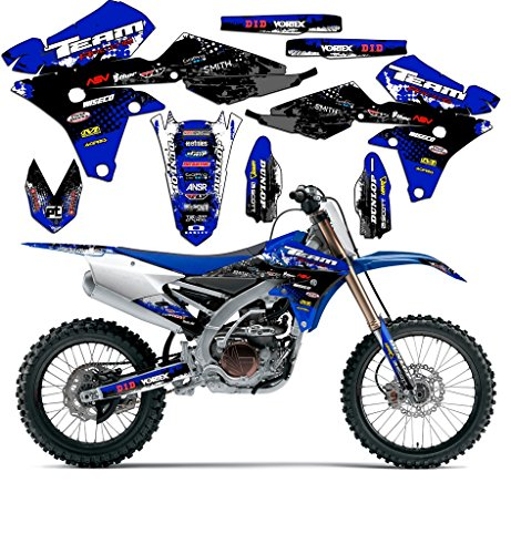 Team Racing Graphics kit compatible with Yamaha 1993-2001 YZ 80, SCATTER
