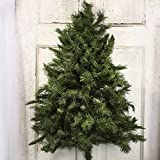 Factory Direct Craft® Flatback Artificial Wall Pine Tree for Holiday and Home Decor