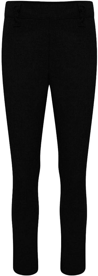 Girls School Uniform Slim Fit Easy Iron Trousers