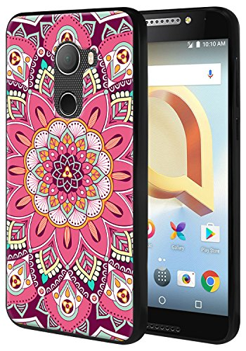 Harryshell For T-Mobile REVVL / Alcatel A30 Fierce 2017 (MetroPCS) / Alcatel A30 Plus (Amazon) / Alcatel Walters Lightweight Slim Thin Tpu Gel Skin Flexible Soft Rubber Protective Case Cover (A-3) A3 Rubber