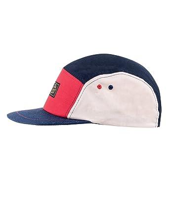 Unisex Block Baseball Caps, Blau (Marine 18), One Size Capo