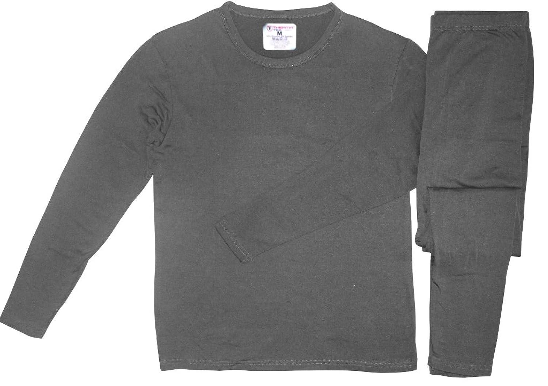 Therma Tek Men's Ultra-Soft Tagless Fleece Lined Thermal ...