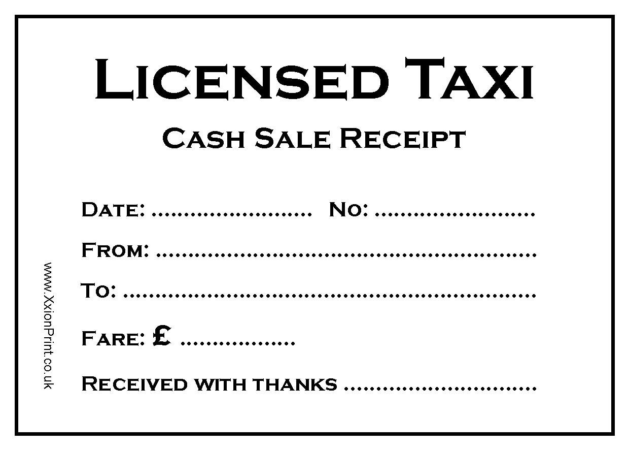 Licensed Taxi Fare Receipt Pads Pack Of 4 X 100 Sheet Pads 400 Receipts In Stock Free Fast Delivery Buy Online In Sweden At Sweden Desertcart Com Productid 54310111