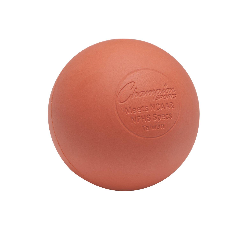 ChampionスポーツPLWソフトラクロス練習ボール オレンジ - Low-bounce