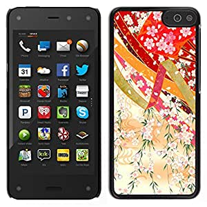 MOBMART Carcasa Funda Case Cover Armor Shell PARA Amazon Fire Phone - Floral Decorations Of Celebrations