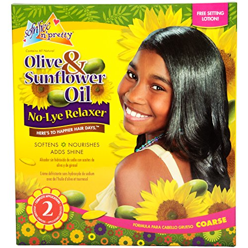 Lye Sensitive Relaxer (Sofn'free No-Lye Sensitive Conditioning Relaxer Double Pack for Regular Hair)