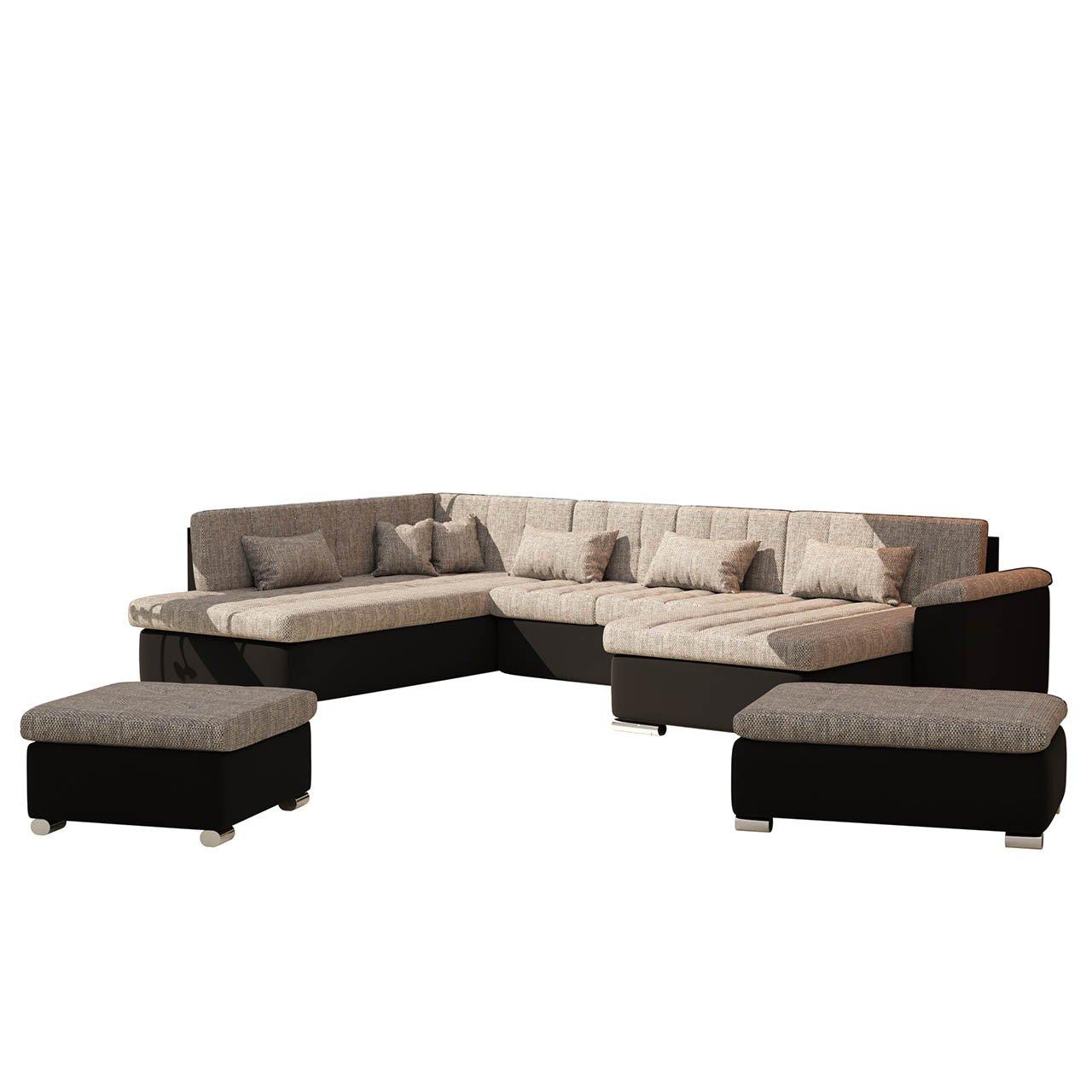Emejing wohnzimmer sofa mit schlaffunktion pictures for Billige ecksofas mit schlaffunktion