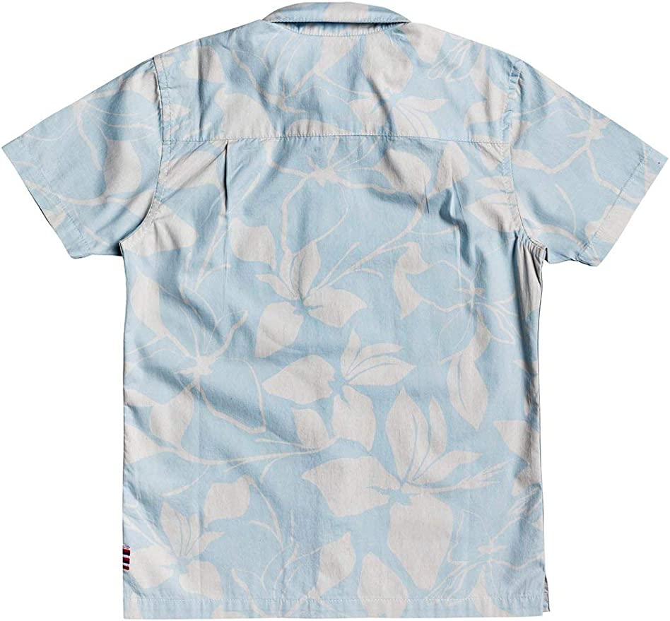 Quiksilver Boys Hi Makala YTH Short Sleeve Hawaiian Shirt