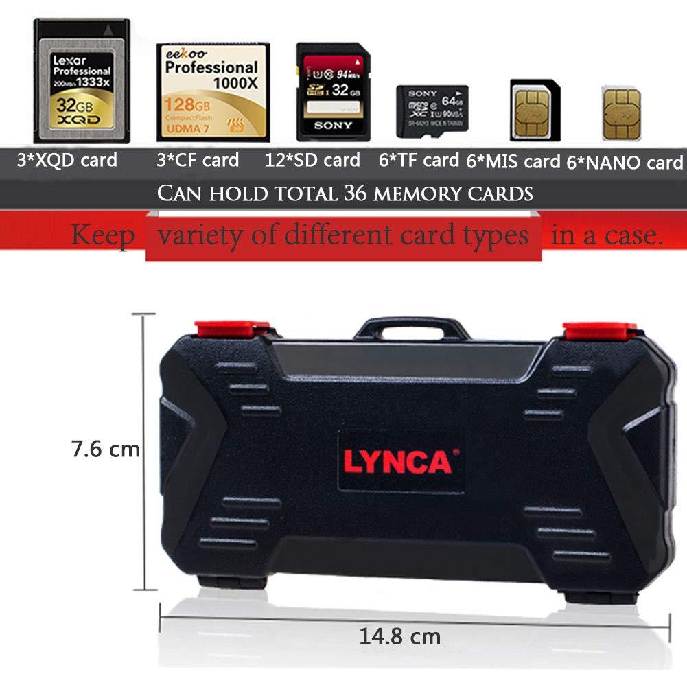 Amazon.com: 36 Slots CF SD Card Camera Memory Cards Storage ...