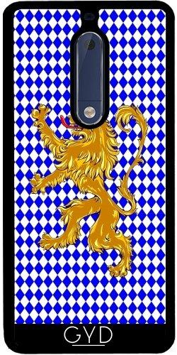 Funda de silicona para Nokia 5 - Cresta Del León Baviera by hera56