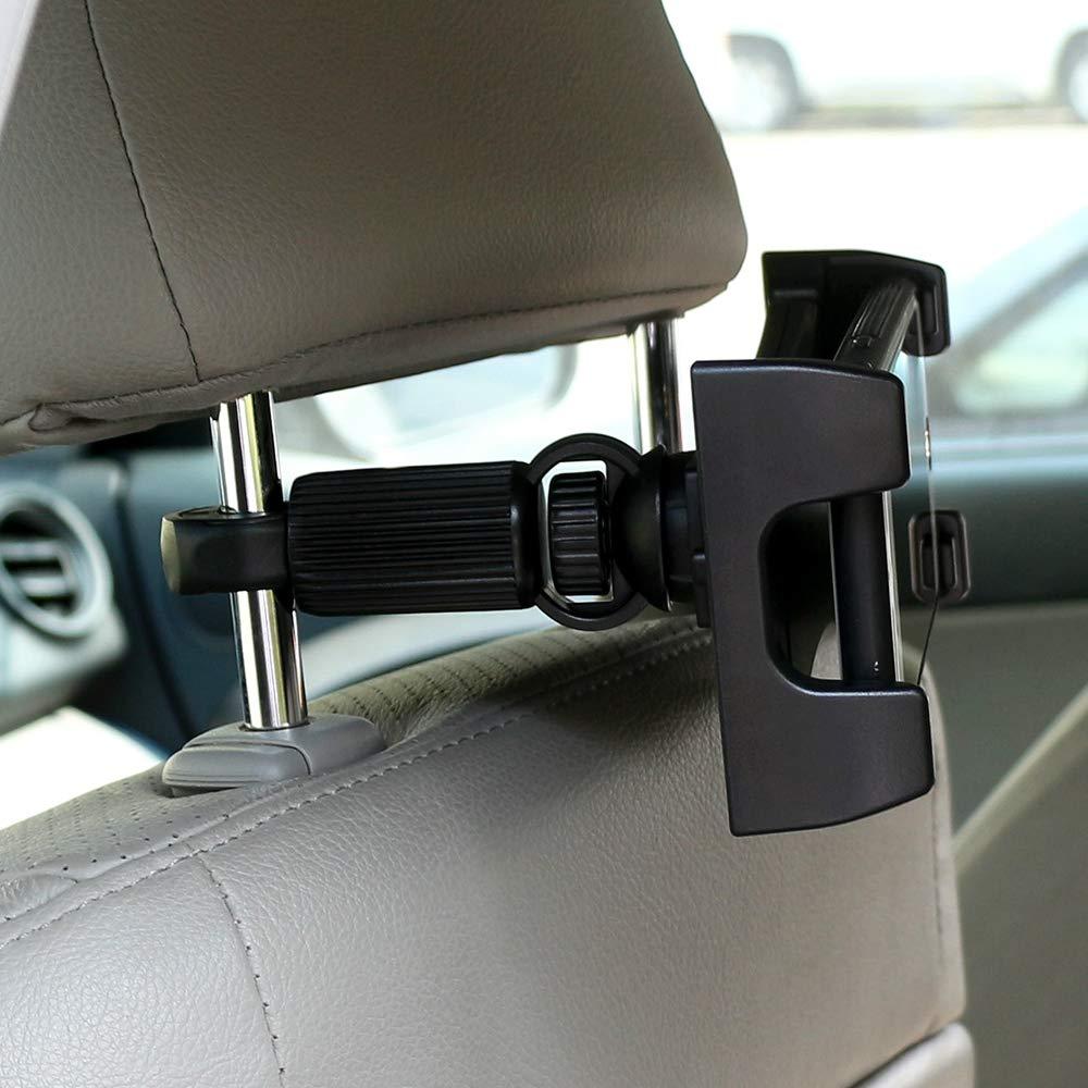 rotante a 360 gradi per iPad Pro GPS Supporto 2 in 1 per cellulare e tablet supporto per poggiatesta auto