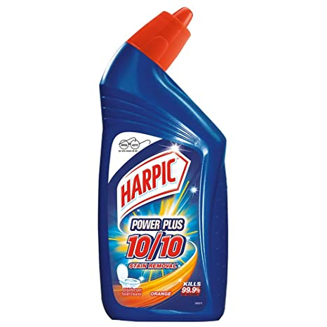 Harpic Powerplus Toilet Cleaner Orange, 500 ml