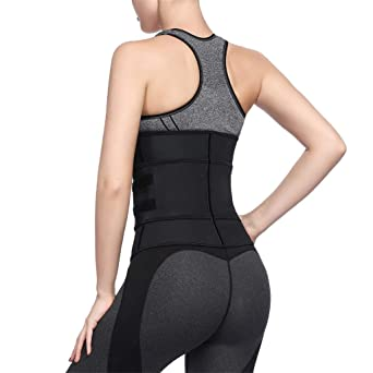 Linlink Ropa interior erótica Women Underbust Pure Color SóLido Cremallera Zipper Sport Girdle Waist Trainer Corsets Body Shaper: Amazon.es: Ropa y ...
