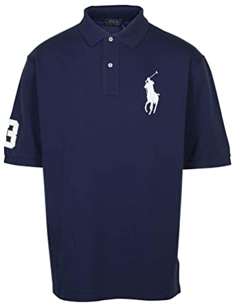 2cc30faa08b0c Image Unavailable. Image not available for. Color  RALPH LAUREN Polo Men s  Big and Tall Big Pony Pique Cotton Polo Shirt Classic Fit (