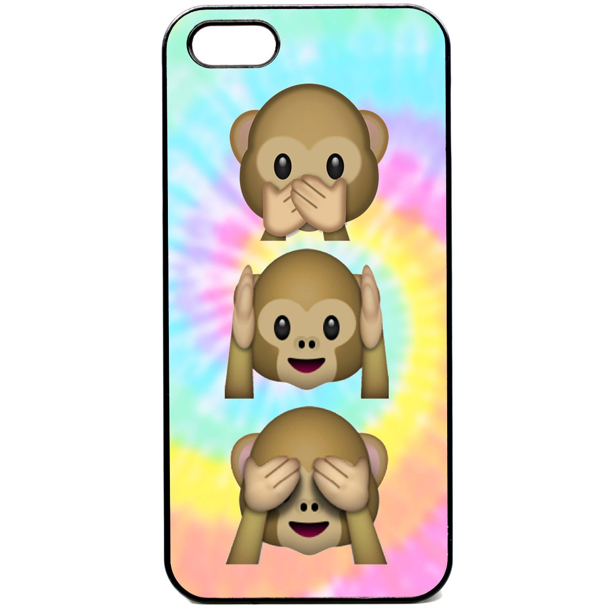 Gut bekannt iPhone 5 / 5s Phone case Emoji monkey Tie Dye cute Emojis 9gag  ZI06